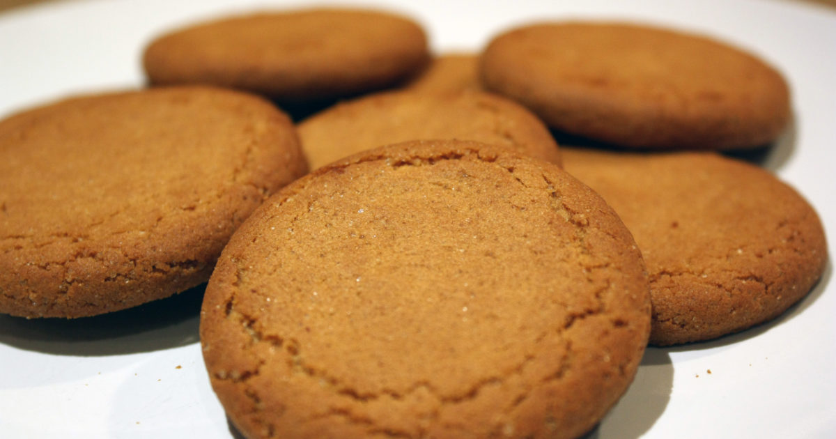 Ginger Nut Biscuits Nibble My Biscuit