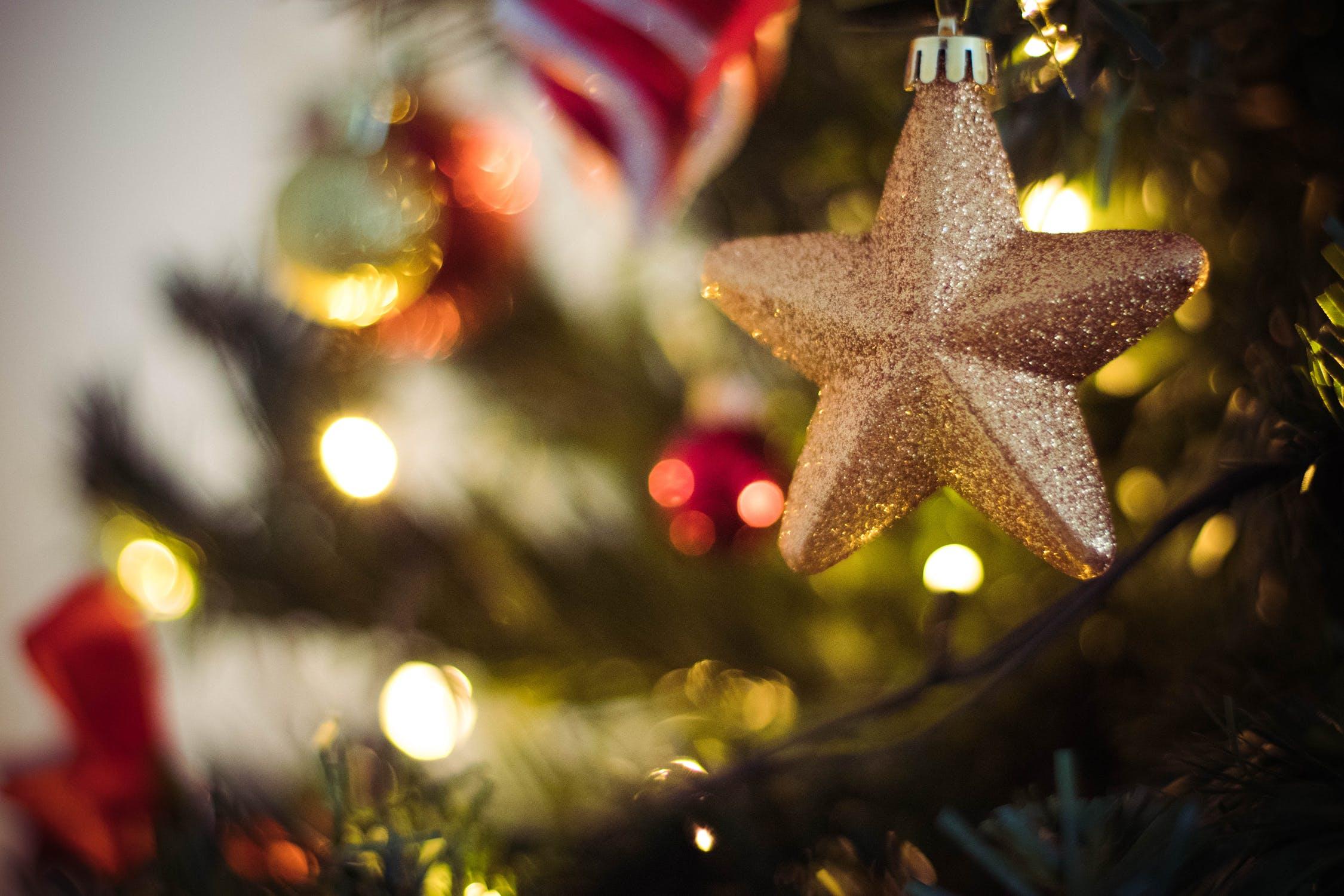Christmas Gold Star